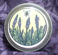Lavender Solid Perfume tin